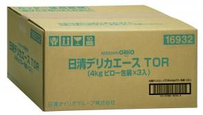 日清ピローオイルシリーズ《デリカエースTOR》4㎏×3袋